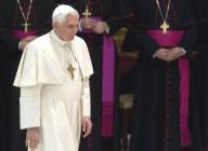Papa Benedicto XVI y obispos de Irlanda