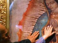 Virgen de Guadalupe detalle
